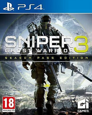 Sniper: Ghost Warrior 3 - Season Pass Edition (PS4) *VERY GOOD CONDITION*