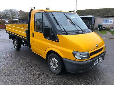 Ford Transit 2.0 TDCI. MWB. DROPSIDE. MOT, 10/2020. NO VAT.. READY FOR WORK.