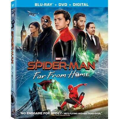 Spider-Man Far From Home (Blu-Ray 2019) & DVD