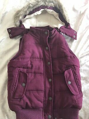 Fat Face Padded Gilet Body Watmer Age 8-9