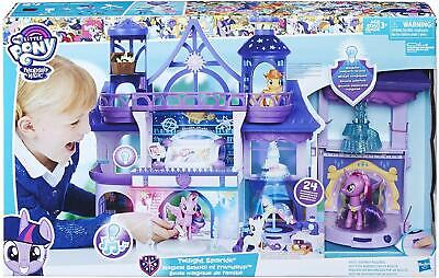 My Little Pony Magical School of Friendship Ages 3+ Toy Castle Doll House Play