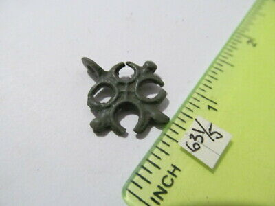 Ancient bronze cross Kievan Rus Vikings 11-13 AD №631/5