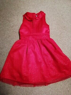 Girls Next Beautiful Red Dress Size 11 years