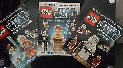 Star Wars Bundle,3 Lego Star Wars Sticker Books.grab a bargain for Christmas