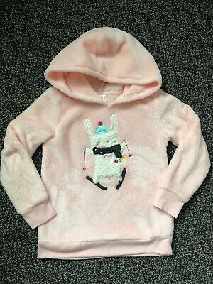 Jumping Beans Toddler Girls Cozy Sweathsirt With Hood. Size 4T.
