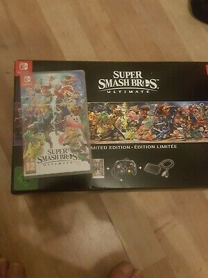 NINTENDO SWITCH Super Smash Bros. Ultimate - free fast signed for.