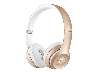 Apple Beats by Dr. Dre Solo 2 Wireless On the Ear Headphones - Gold