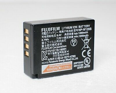 1x Genuine FUJIFILM NP-W126S Battery for Fuji X-T2 X-H1 X-T3 X-E3...*3 AVAILABLE