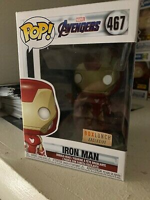 Funko Pop! Marvel Avengers Endgame Iron Man #467 Box Lunch Excl