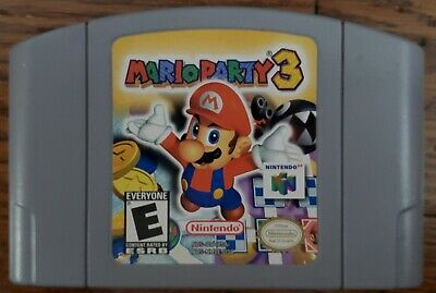 Mario Party 3 Nintendo 64 Game Authentic N64 Cartridge Only