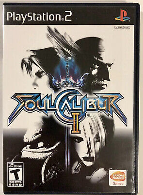 Soul Calibur II (Sony PlayStation 2, 2003) PS2 Complete FREE SHIPPING!