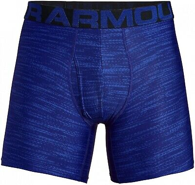 NWT Men's Under Armour Tech 6-inch 2-pack BoxerJock Boxer Briefs Large - Novelty