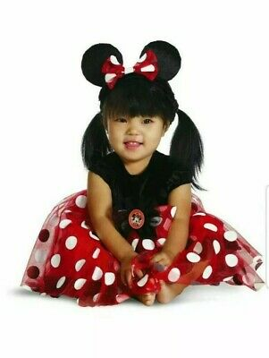 Minnie Mouse Costume  Girls Classic by Disguise 50366-67-63