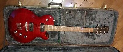 YAMAHA AES-620 Red with a lollar pick up and a dimarzio