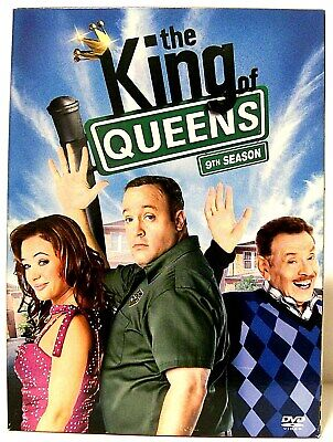 """THE KING OF QUEENS"" Season 9 Comedy TV Series 2-Disc DVD Set (2007) KEVIN JAMES"