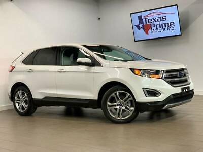2016 Ford Edge Titanium 4dr Crossover 2016 Ford Edge Titanium 4dr Crossover Automatic 6-Speed FWD I4 2.0L Turbocharger