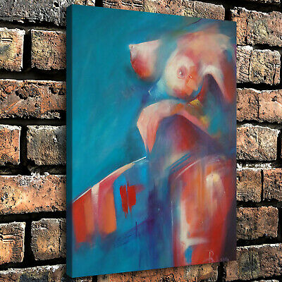 """12""""x16"""" Abstract Bust Painting HD Canvas prints Home Decor room Wall art Picture"""