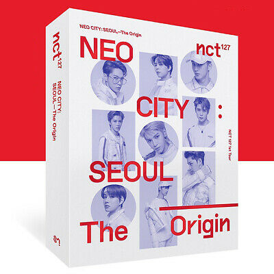 NCT 127 NEO CITY : SEOUL [THE ORIGIN] KIT VIDEO+Kit Bag+Photo Book+GIFT SEALED