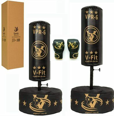 Kids Free Standing Boxing Punch Bag Junior Heavy Duty Kick  MMA Gym Training Set