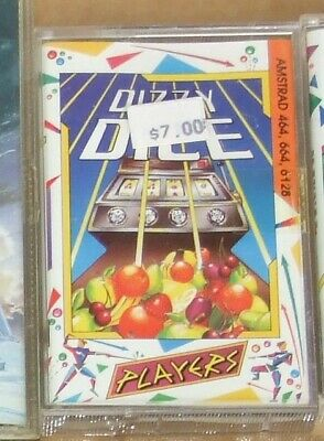 Dizzy Dice game for the Amstrad CPC on cassette