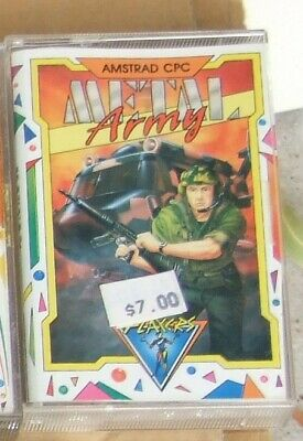 Metal Army game for the Amstrad CPC on cassette by Players