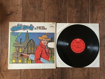 David Bowie ‎– The Man Who Sold The World LP. US press  Cartoon Sleeve