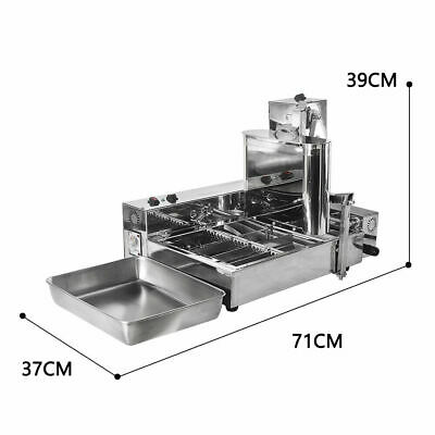 Commercial countertop Mini 4 Rows Donuts Making Machine, donuts maker