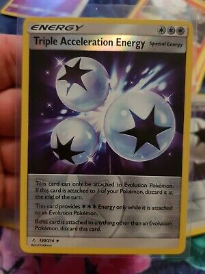 Triple Acceleration Energy SM - Unbroken Bonds