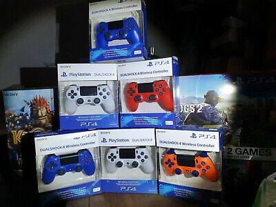 PS4 DualShock 4 V2 Wireless Controller - Magma Red.
