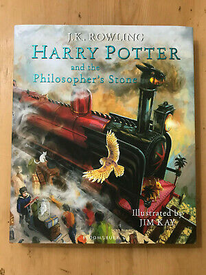 HARRY POTTER AND THE PHILOSOPHER'S STONE J K Rowling Jim Kay SIGNED ILLUSTRATED
