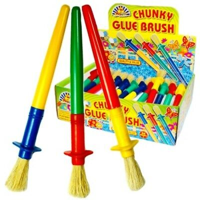 684 wholesale childrens chunky Glue/paint brushes! Craft!