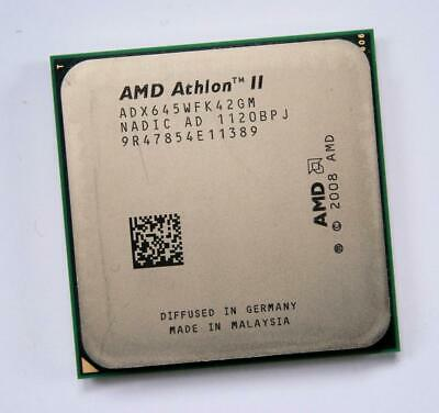 AMD Athlon II X4 ADX645WFK42GM Quad-Core 3.1GHz Socket AM2+ AM3 Processor CPU