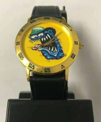 Hot Rod Monster, Reno Roth, Rat Fink, Daddy, Far Out Wrist Watch, New Battery