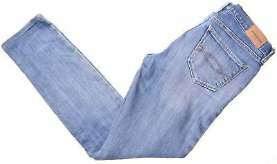 ABERCROMBIE & FITCH Girls Jeans 13-14 Years W26 L27 Blue Cotton Skinny  LY05