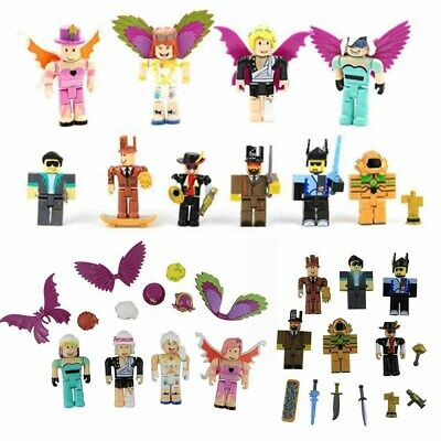 UK 2018Roblox Figures 4/6 Pcs Set PVC Game Roblox Toy Mini Box Package Kids Gift