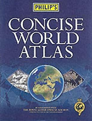Philips Concise World Atlas, , Used; Good Book