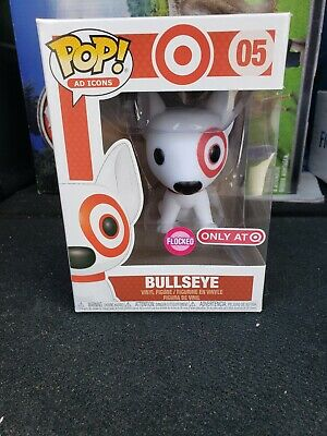 Funko POP! Ad Icons: Target - Bullseye Flocked with Red Collar Target Exclusive