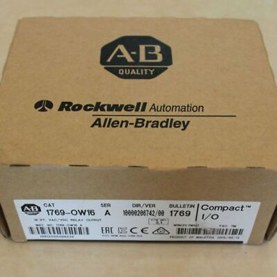 New in Box 1769-OW16 Series A CompactLogix 16 Pt Relay Output Module 1769OW16