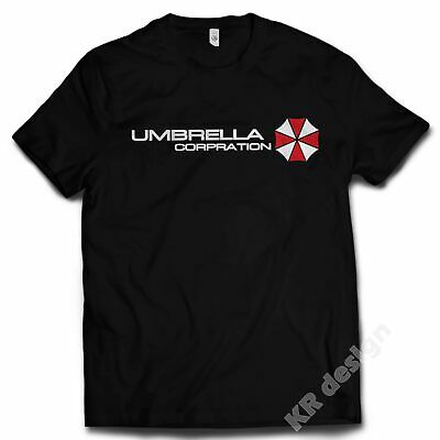 Inspired Resident Evil T-shirt UMBRELLA CORPORATION T shirt corp zombie ps4