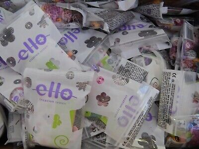 Toy wholesale! 100 packs of Ello creation system construction sets!