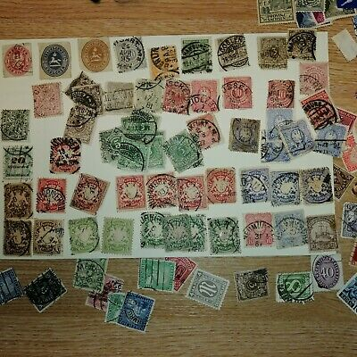 large collection / job lot of old stamps - worldwide, mixed condition.