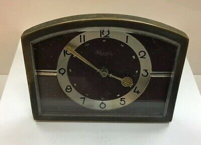 VINTAGE / ART DECO KIENZLE  DESK / ALARM CLOCK DATES CIRCA 1930s CHEAP /  £10.00