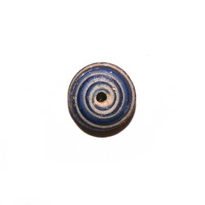 A Roman Glass Spindle Whorl, Roman Imperial Period, ca. 3rd Century AD