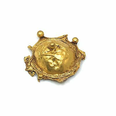 A Holy Land Gold Brooch, ca late 4th century BC