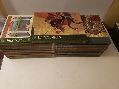 Set of 19 TIME-LIFE:  GREAT AGES OF MAN volume Lot history HC EUC