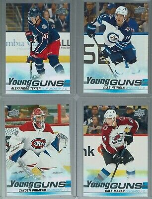 2019-20 Upper Deck Young Guns Series 1 & 2 - Complete your set -  You Pick
