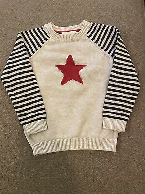 The Little White Company Star Jumper 2-3 Yrs