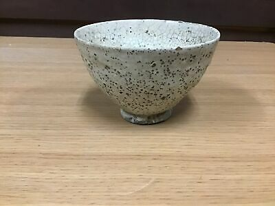 Y0689 CHAWAN Hagi-ware antique Japanese Tea Ceremony bowl pottery Japan