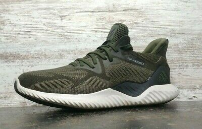 Mens Adidas Alphabounce Beyond Running Shoes SZ 10.5 44.5 M Used BW1247 Green
