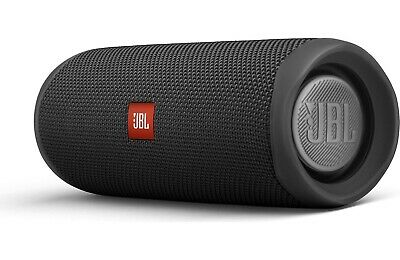 JBL Flip 5 Wireless Waterproof Bluetooth Speaker - (Black) - Authorized Dealer